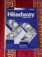 Отдается в дар Headway Intermediate Workbook