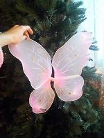 Отдается в дар Детские маскарадные крылышки.( бабочка)