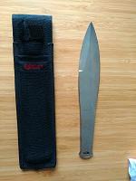 Отдается в дар Метательный нож Yagnob knife
