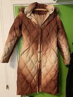 Отдается в дар Пальто-пуховик на 44 размер