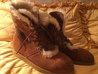 Отдается в дар Зимние ботинки