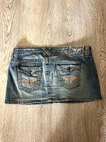 Отдается в дар Джинсовая юбка lei