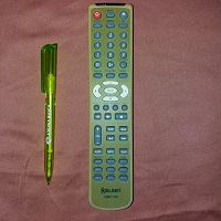 Отдается в дар ROLSEN GRC-02 пульт от DVD-плеера ROLSEN RDV-750