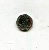 Отдается в дар 1 доллар 1995 Ямайка