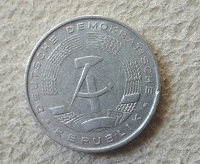 Отдается в дар ГДР монета 10 пфеннигов 1968 год
