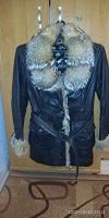 Отдается в дар Куртка с мехом (размер 46-48)