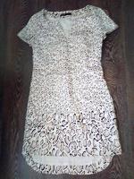 Отдается в дар Платье летнее белый мрамор 42-44