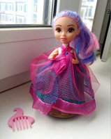 Отдается в дар Куколка-принцесса