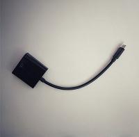 Отдается в дар Переходник HDMI — VGA