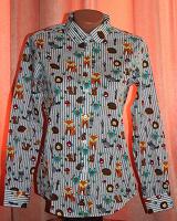 Отдается в дар Женская рубашка. Размер 42-44