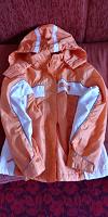 Отдается в дар Летняя утепленная куртка — ветровка р.146