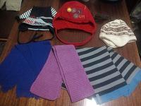 Шапки, шарфы детские