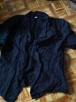 Отдается в дар Черная рубашечка с вышивкой, 42-44