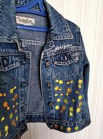 Отдается в дар Джинсовая курточка для девочки