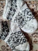 Отдается в дар теплые носочки для дома.