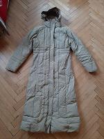Отдается в дар Длинное зимнее пальто-пуховик