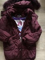 Отдается в дар Куртка зимняя 122-128