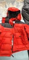 Отдается в дар Куртка зимняя пух-перо 116 см Columbia