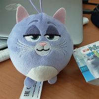 Отдается в дар Плюшевая кошка Хлоя