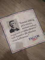 Отдается в дар Салфетка Falcon Beer коллекционерам пивных аксесуаров