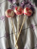 Отдается в дар Карамельная конфета на палочке