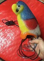 Отдается в дар Светильник попугай