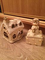 Отдается в дар Домик и шкатулка-свеча