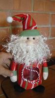 Отдается в дар Дед мороз с емкостью для конфет