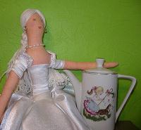 Отдается в дар Кукольный винтажный кофейник