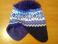 Отдается в дар Фиолетовая шапка