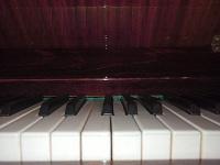 Отдается в дар Пианино красный октябрь