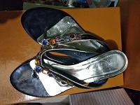 Отдается в дар Летние туфли 38