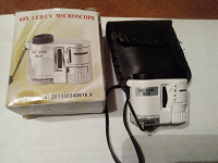 Отдается в дар Микроскоп 60x led uv microscope