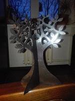 Отдается в дар Держатель для сережек — дерево