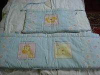 Отдается в дар Бампер ( бортики) для детской кроватки