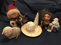 Отдается в дар Набор фигурок «Новогодний» для коллекции