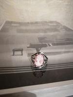 Отдается в дар Кольцо «Камея», размер 18.