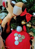 Отдается в дар Новогодний монетный дар