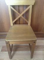 Отдается в дар Детский стульчик деревянный