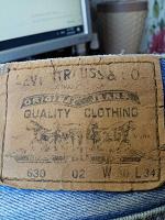 Отдается в дар женские джинсы levi's 630