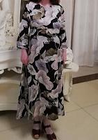 Отдается в дар Платье миди на 52 размер Zolla