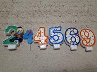 Отдается в дар Свечи-цифры на торт