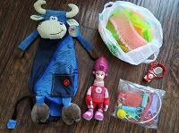 Отдается в дар Детям игрушки и рюкзачок