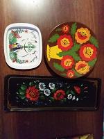 Отдается в дар Декоративные тарелки