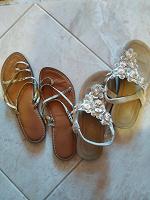 Отдается в дар Летняя обувь 37 р.
