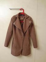 Отдается в дар Коричневое пальто Romatic 42 р-ра