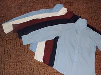Отдается в дар Школьные рубашки (рост 146)