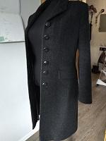 Отдается в дар Женское пальто демисезонное шерстяное