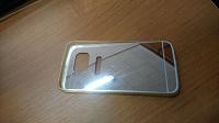 Отдается в дар Зеркальный бампер к телефону Samsung S6