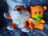 Отдается в дар Оранжевые мягкие игрушки